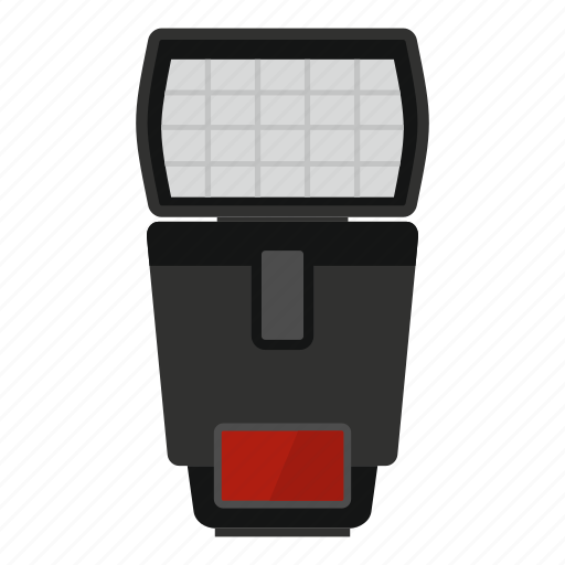 camera, equipment, flash, light, photography, portable, technology icon