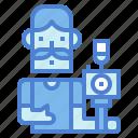 camera, man, photographer, photographic, shooting icon