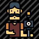 camera, man, photographer, photographic, shooting