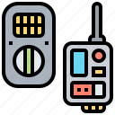 camera, device, flash, remote, trigger icon