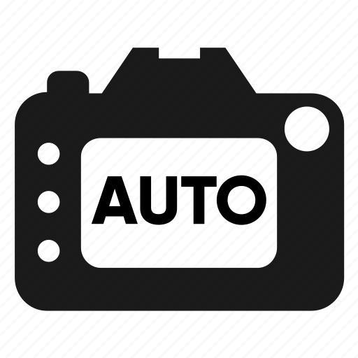 auto, automatic, camera, configuration, photography, screen, settings icon