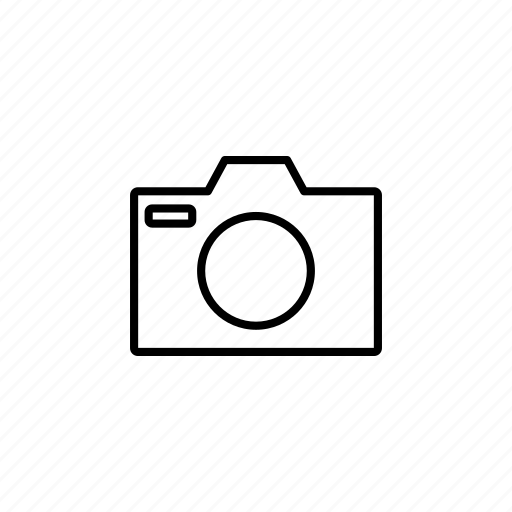 camera, outline, photo, photography icon