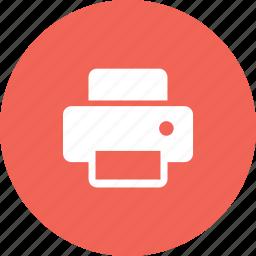 device, digital, photography, printer icon