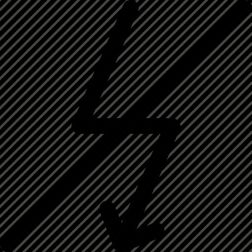 camera, flash, light, no icon icon
