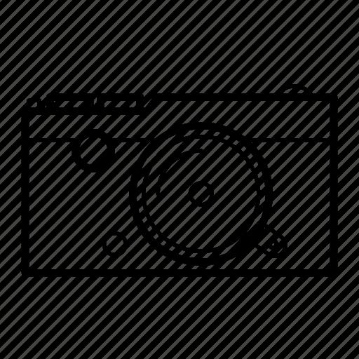 camera, mirrorless, photography, slr icon