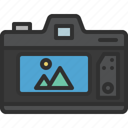 camera, dslr, photo, photography, preview icon