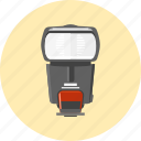 camera, device, flash, light, photo, tool icon