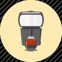 camera, device, flash, light, photo, tool icon