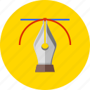 design, drawing, graphic, office tools, paint, pen, tools icon