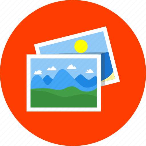 creative, gallery, images, photo album, photography, photos, pictures icon
