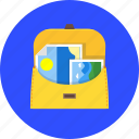 bag, business, case, graph, portfolio, suitcase icon
