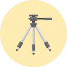 camera support, equipment, photo, technology, tool, tripod, video icon