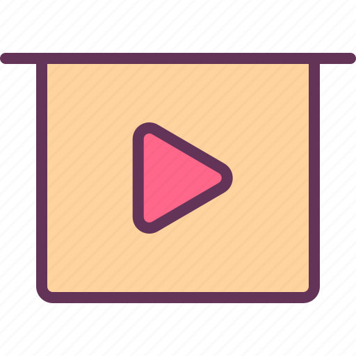 media, presentation, preview, show, slide icon