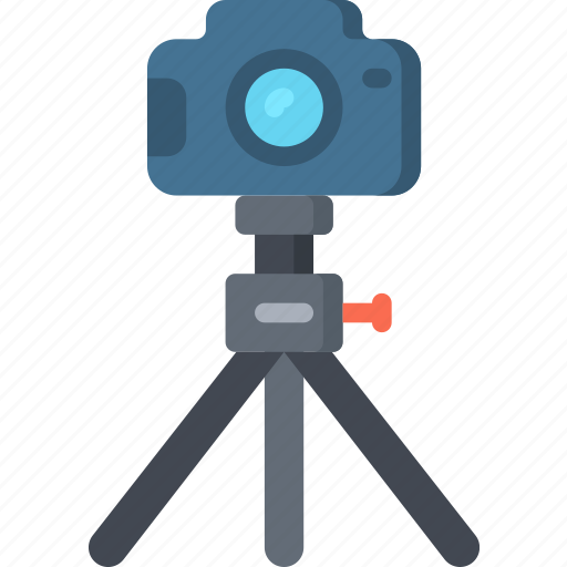 Camera, dslr, on, photographer, photographs, photography, tripod icon - Download on Iconfinder