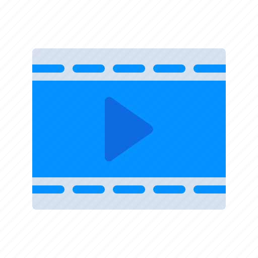 Entertainment, film, multimedia, photography, play, reel, video icon - Download on Iconfinder