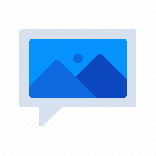 Communication, image, photo, photography, picture, talk icon - Download on Iconfinder