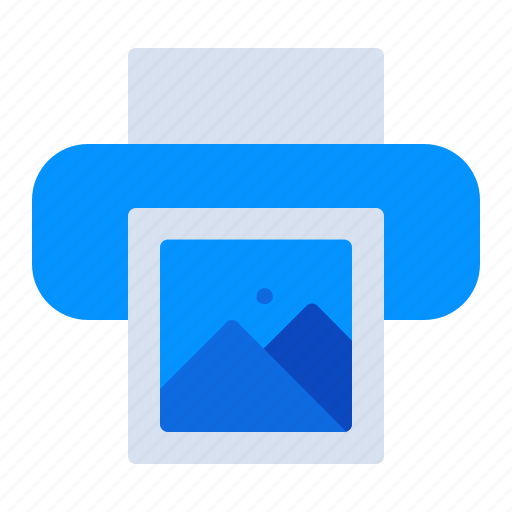 device, image, photo, photography, picture, print, printer icon