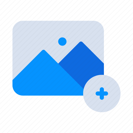 Add, gallery, image, photo, photography, picture, plus icon - Download on Iconfinder