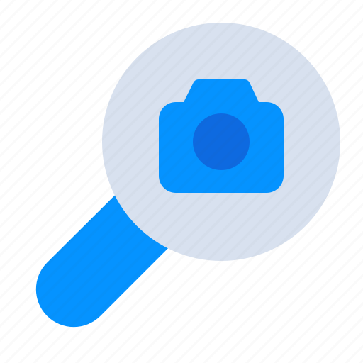 Camera, find, magnifier, media, photography, search, seo icon - Download on Iconfinder