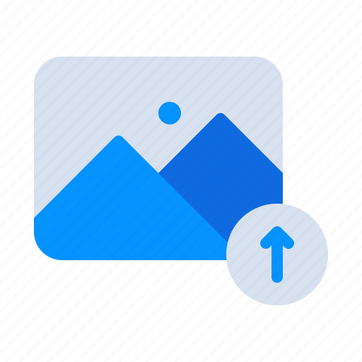 Circle, gallery, image, photo, photography, picture, upload icon - Download on Iconfinder