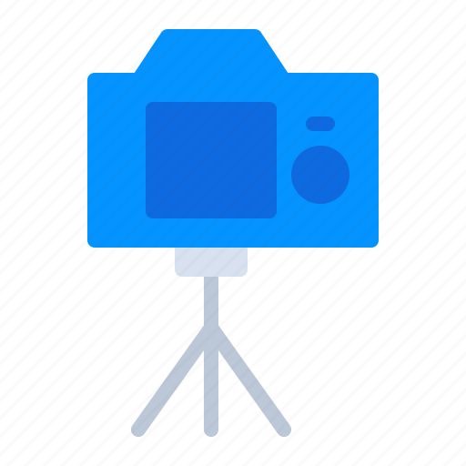 Camera, image, photo, photography, screen, tripod, video icon - Download on Iconfinder