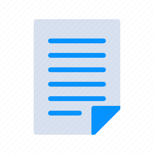 agreement, document, file, list, page, paper, photography icon