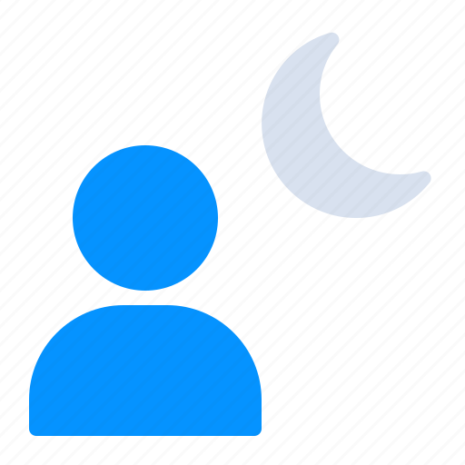 Interface, mode, moon, night, photography, user icon - Download on Iconfinder