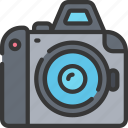 camera, dslr, photographer, photographs, photography icon