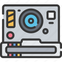 camera, photographer, photographs, photography, polaroid, shooting icon