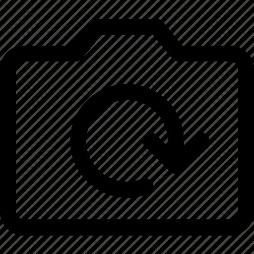 arrows, camera, refresh, reload, sync icon icon