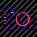 camera, instant camera, photo cam, photographic digital camera, photographic equipment, photography, polaroid icon
