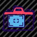 camera, live view, photo cam, photographic digital camera, photographic equipment, polaroid icon