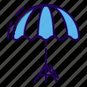 canopy, parasol, protection, studio umbrella, umbrella icon