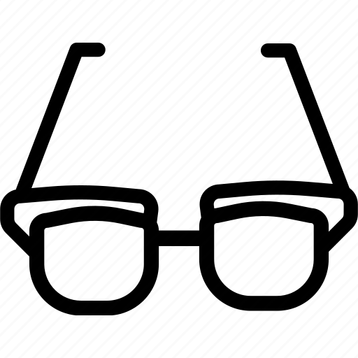 asset, eye, eyeglasses, glasses, specs, spectacles, sunglasses icon