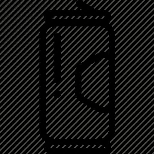 asset, beverage, bin, can, cola, drink, trash icon