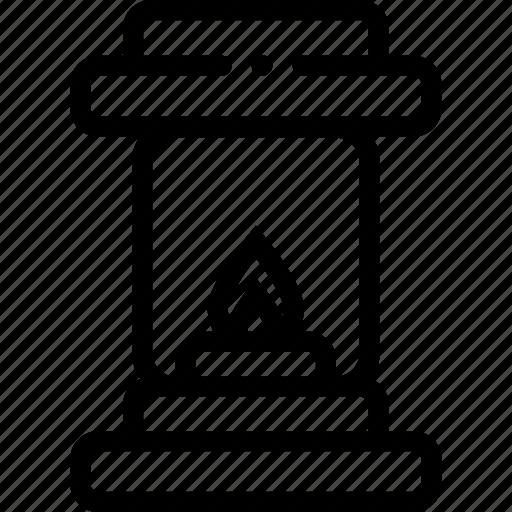 bulb, electricity, energy, lamp, light, lightbulb, petromas icon