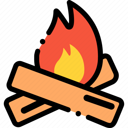 Camp, campfire, camping, outdoor, transport, travel icon - Download on Iconfinder