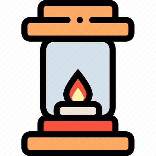 bulb, electricity, energy, flame, lamp, light icon
