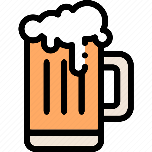 alcohol, beer, beverage, cup, drink, glass, restaurant icon