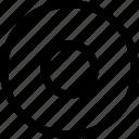 aim, archery, bullseye, circles, goal, traget icon