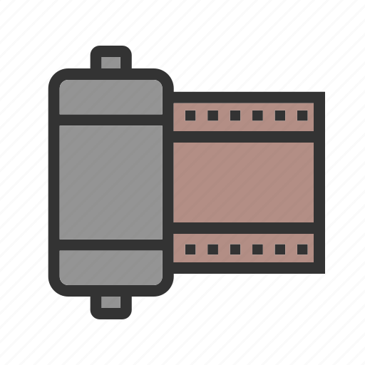 camera, film, frame, photo, photography, roll, strip icon