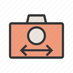auto, camera, closeup, mode, movie, program, video icon