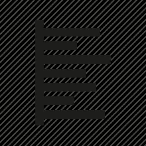 bar, chart, editor icon