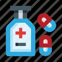 pills, pill, medicine, drug, tube, pharmacy, bottle