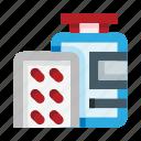 pills, pill, medicine, drug, pharmacy, bottle, package