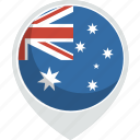 country, flag, australia, nation