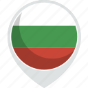 bulgaria, country, flag, nation icon