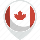canada, country, flag, nation