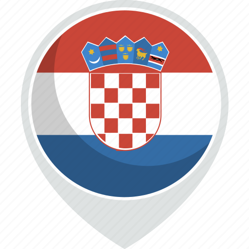 country, croatia, flag, nation icon