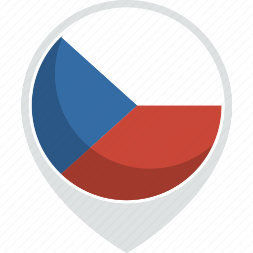 country, czech, flag, nation, republic icon